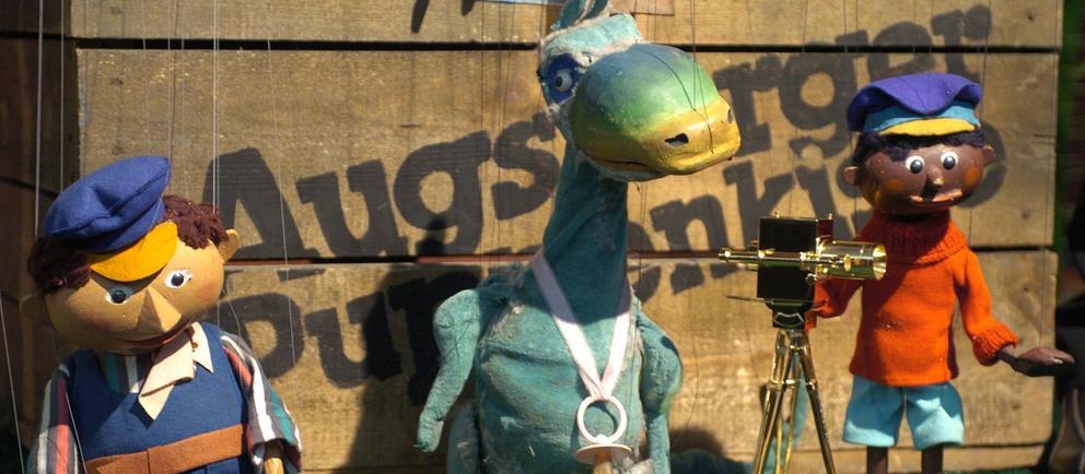 Marionetten: Jim Knopf und Lukas der Lokomotivführer