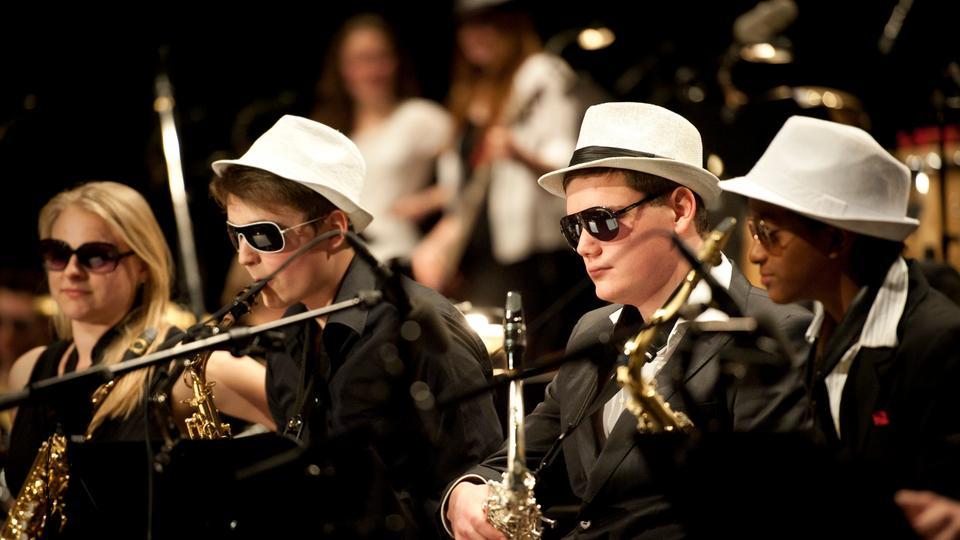 Schüler machen Musik