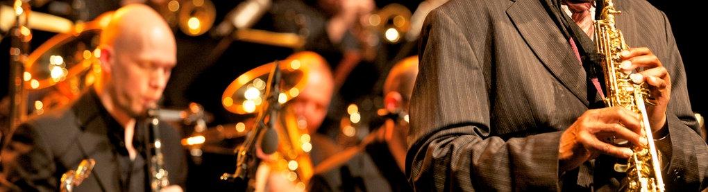Konzertszene der hr-Bigband