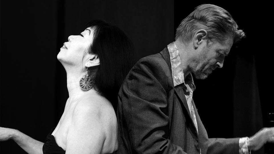 Zwei Musiker Porträt