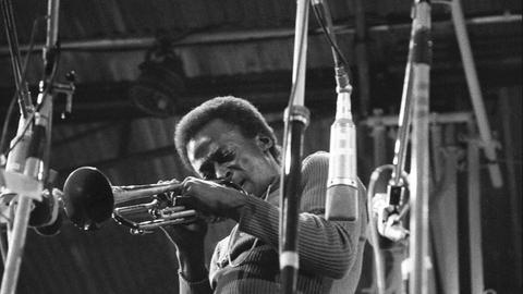 Miles Davis 1970 beim Festival der Isle of Wight