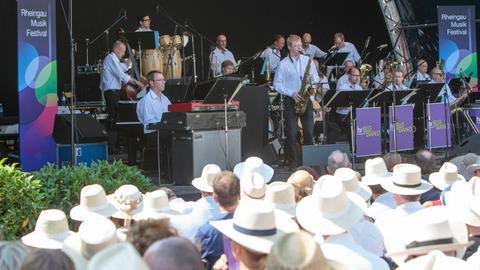 hr-Bigband beim Rheingau Musik Festival