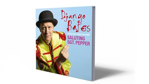 Cover Django Bates Saluting Sgt. Pepper
