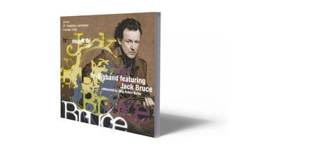 CD-Cover Jack Bruce feat. hr-Bigband
