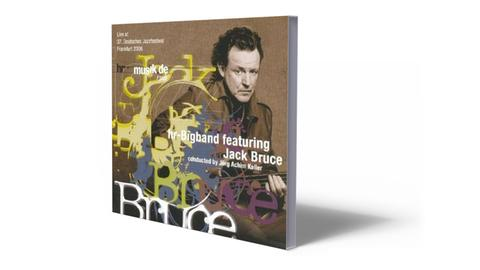 CD-Cover Jack Bruce feat. hr-Bigband