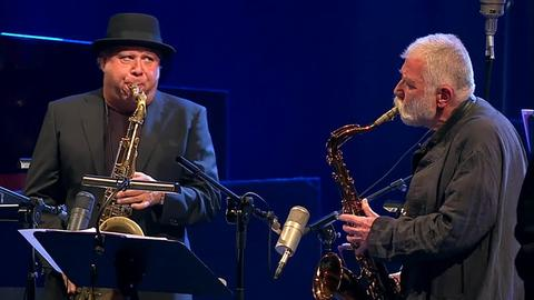 Tony Lakatos und Peter Brötzmann