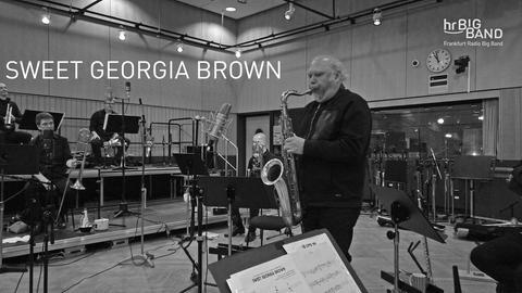 hr-Bigband spielt Sweet Georgia Brown